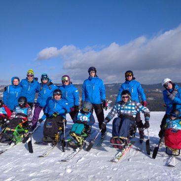 Śnieg + Adrenalina Junior - Wisła 2020 Turnus III 10-16 Luty - Narciarstwo zjazdowe osób niepełnosprawnych - Fundacja Aktywni Bez Barier
