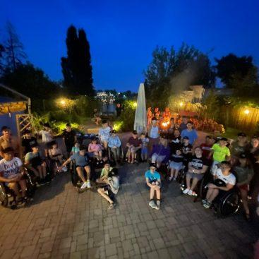 """Warsztaty """"Od aktywności do samodzielności"""" 25.07-04.08.2021 Wągrowiec - Obóz sportowy dla dzieci z niepełnosprawnościami - Fundacja Aktywni Bez Barier"""