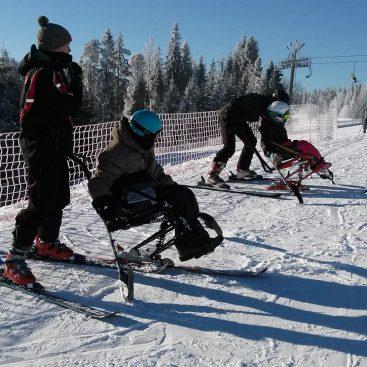 Śnieg + Adrenalina - Junior - Białka Tatrzańska 2017 - Narciarstwo zjazdowe osób niepełnosprawnych - Fundacja Aktywni Bez Barier