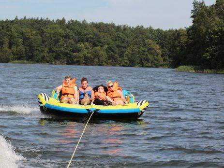 H2O + adrenalina Junior - obóz letni dla dzieci z niepełnosprawnością ruchową - Wągrowiec - Dymaczewo Nowe 15.07-23.07.2017