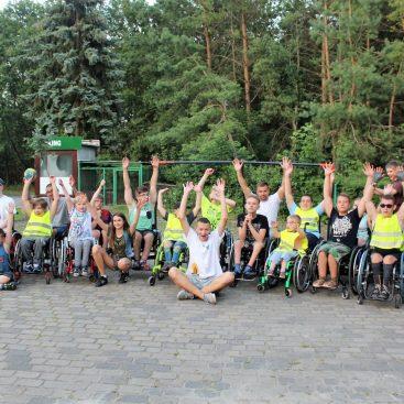 H2O + Adrenalina Junior - Relacja z obozu letniego dla dzieci z niepełnosprawnością ruchową - Wągrowiec - Dymaczewo Nowe 15.07-23.07.2017