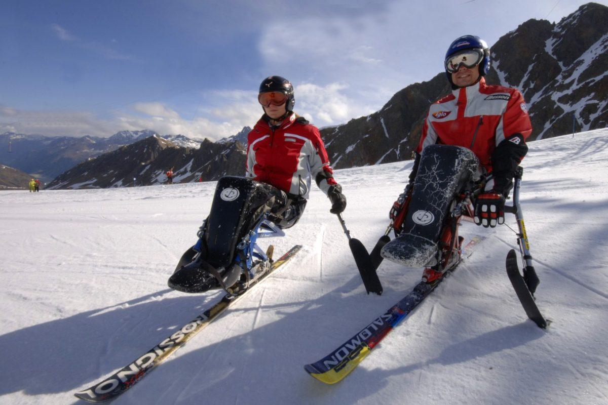Szkolenia narciarstwo zjazdowe osób niepełnosprawnych monoski